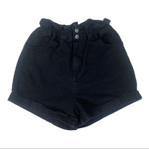 The Impeccable Pig Stretch High Rise Jean Shorts